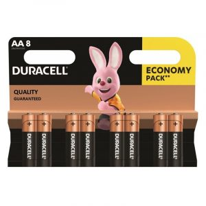 duracell 8pack AA